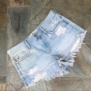 Hollister | Denim Distressed Shorts